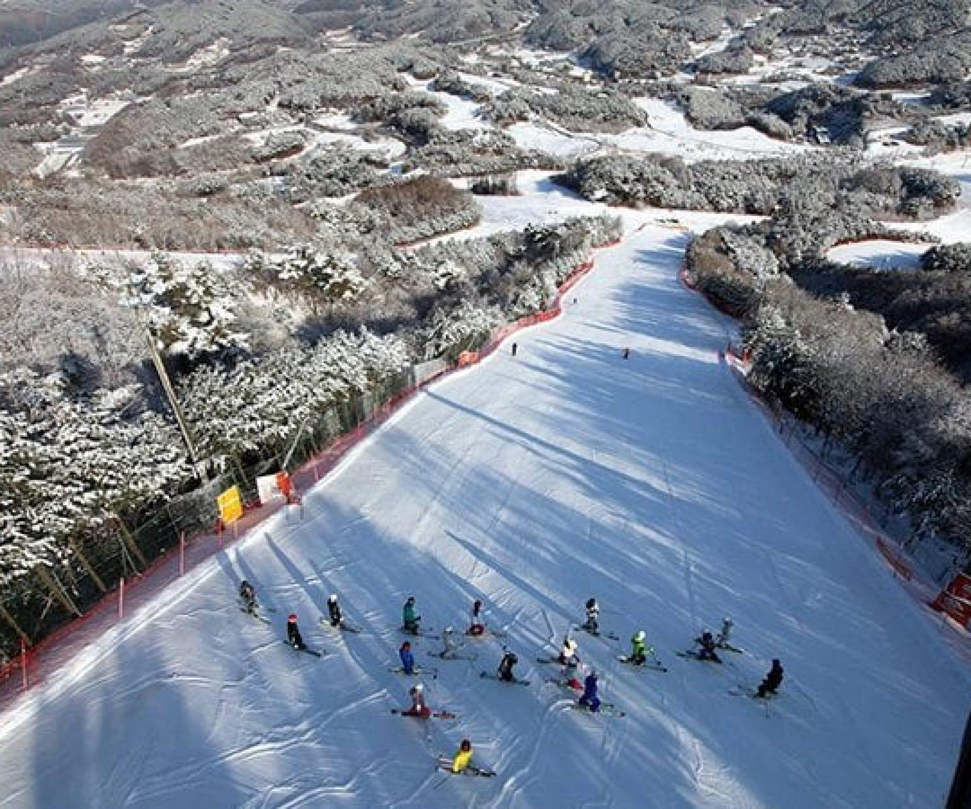 Welli Hilli Hyundai Ski Resort | Hoengseon, Gangwon-do