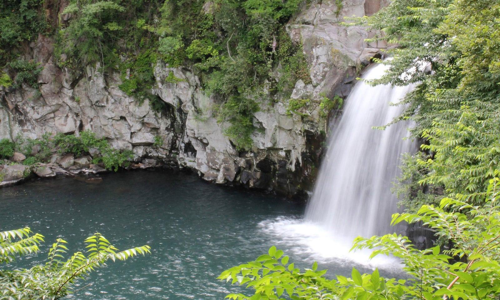 Cheonjiyeon Falls   Seogwipo-si, Jeju