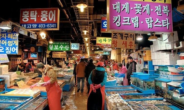 Garak Fish Market   Songpa-gu, Seoul