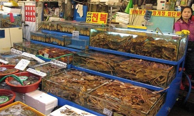 Noryangjin Fish Market   Dongjak-gu, Seoul