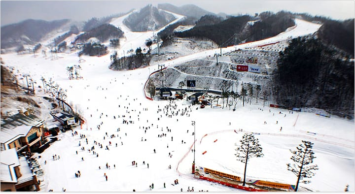 Oak Valley Ski Resort | Weonju, Gangwon-do