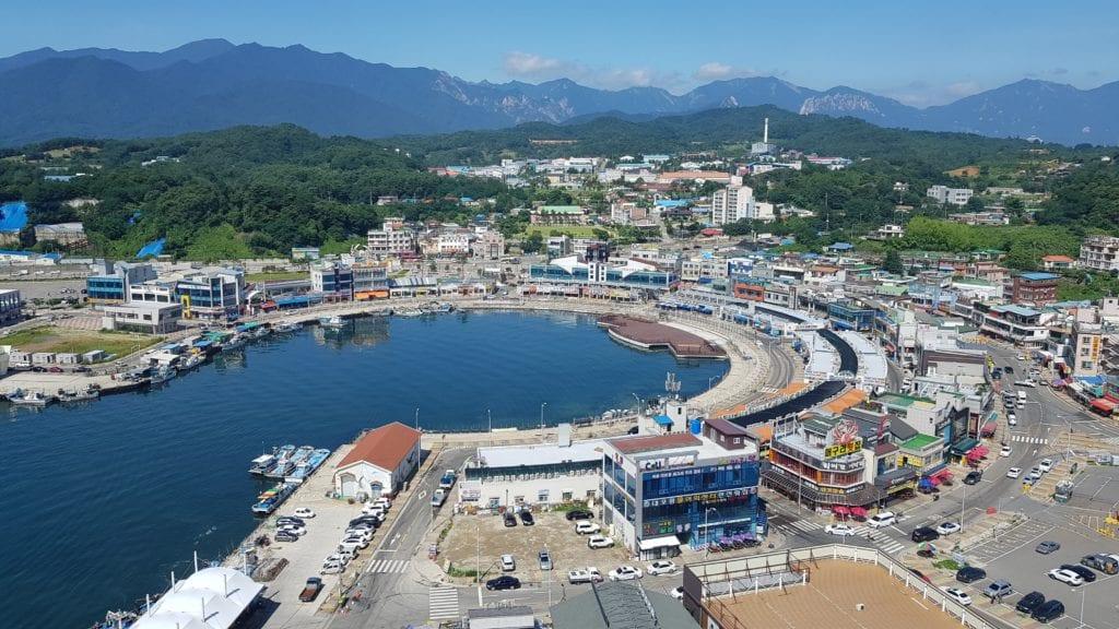 Daepohang Port (대포항)   Sokcho-si, Gangwon-do