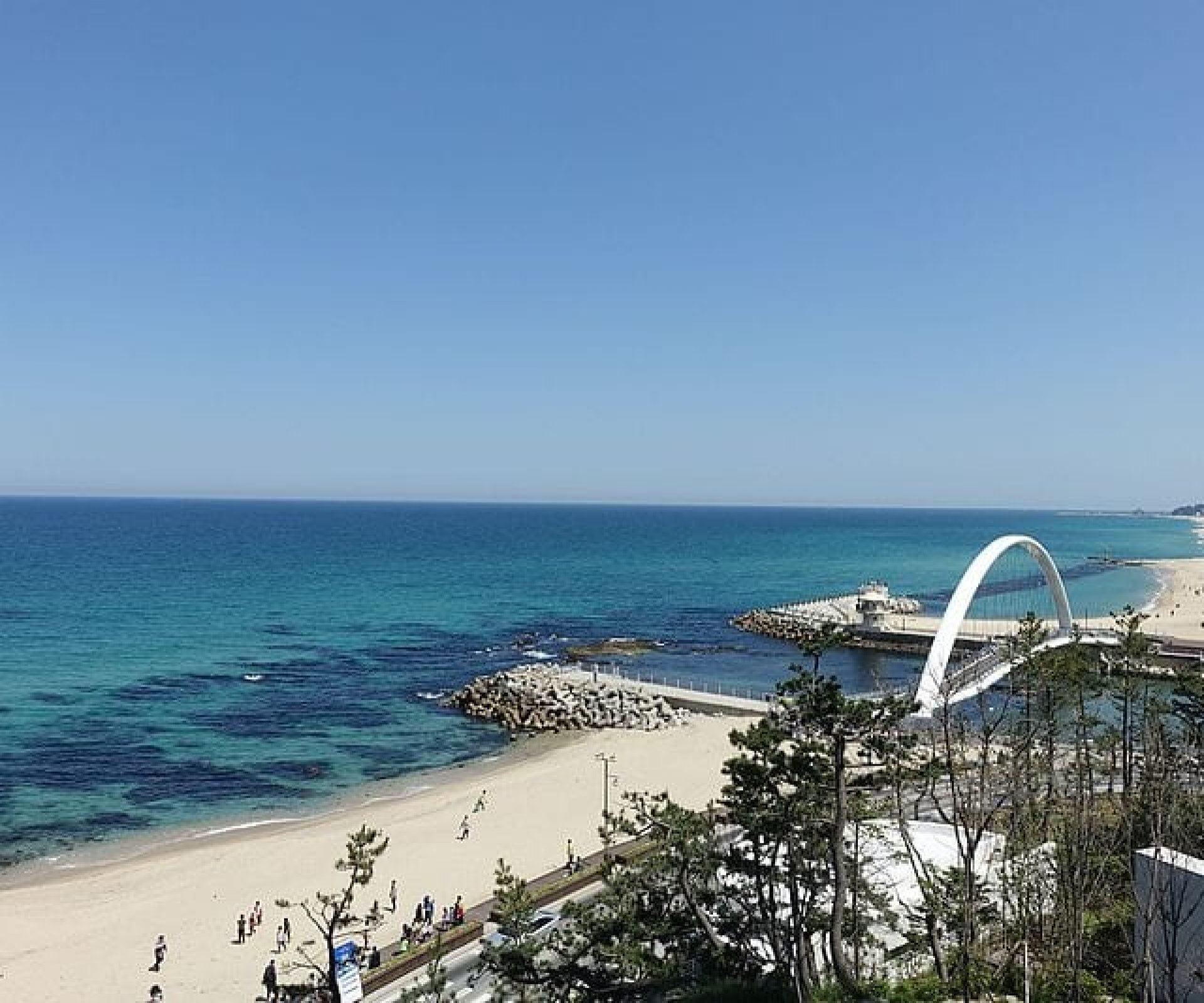 Jumunjin Beach (주문진해변) | Gangneung-si, Gangwon-do