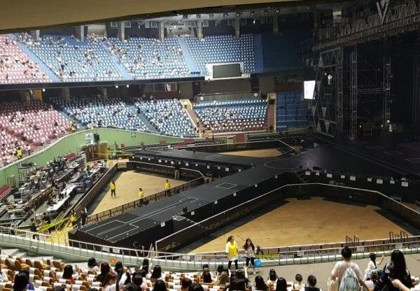 Jamsil Arena (Jamsil Indoor Stadium)   Songpa-gu, Seoul