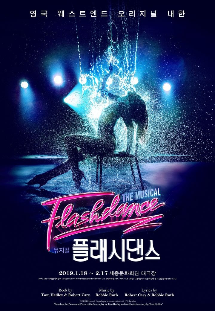flashdance the musical seoul korea
