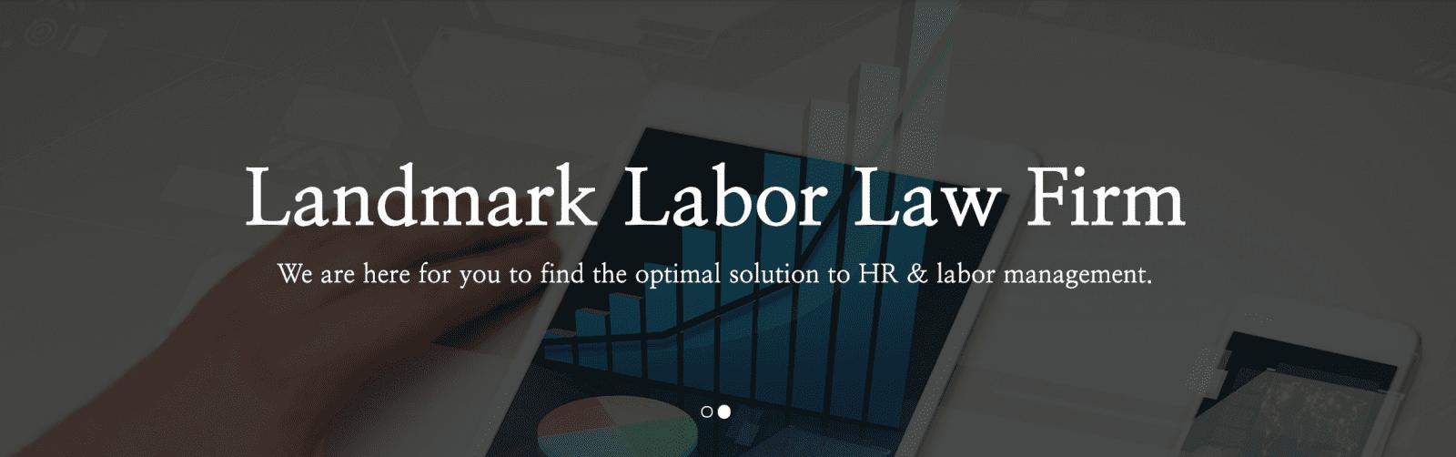Landmark Labor Law Firm | Gangnam-gu, Seoul