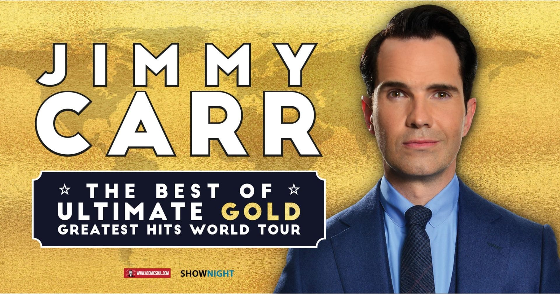Jimmy Carr, The Best of, Ultimate, Gold, Greatest Hits Tour in Seoul