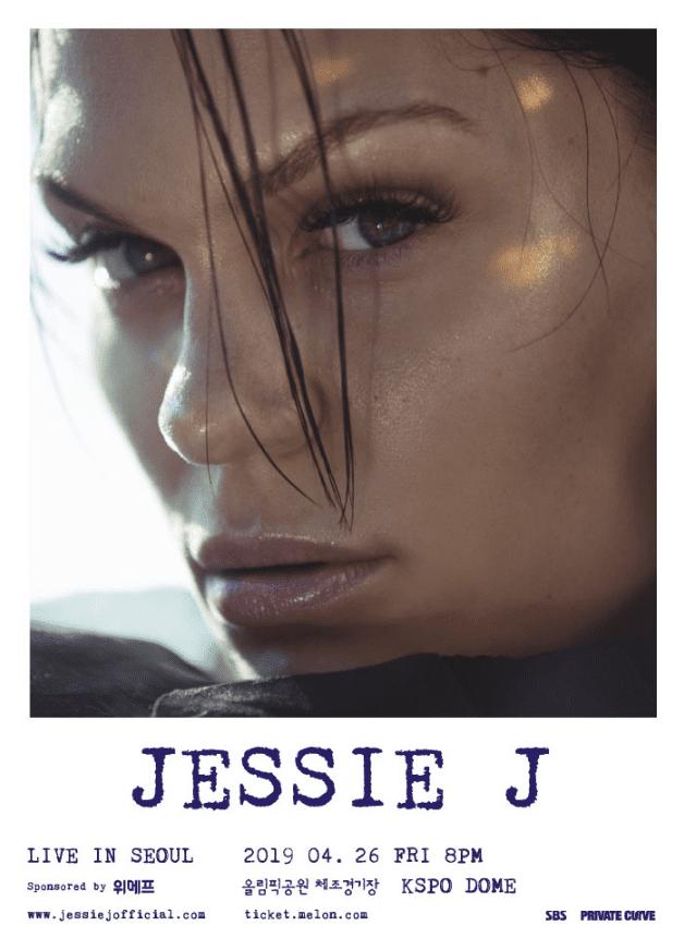 jessie j live in seoul
