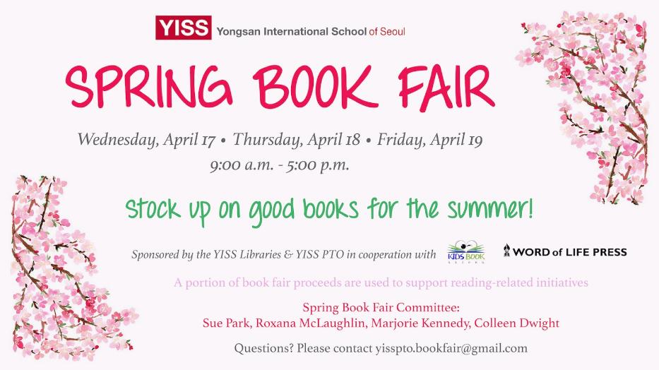YISS Spring Book Fair | Yongsan-gu, Seoul