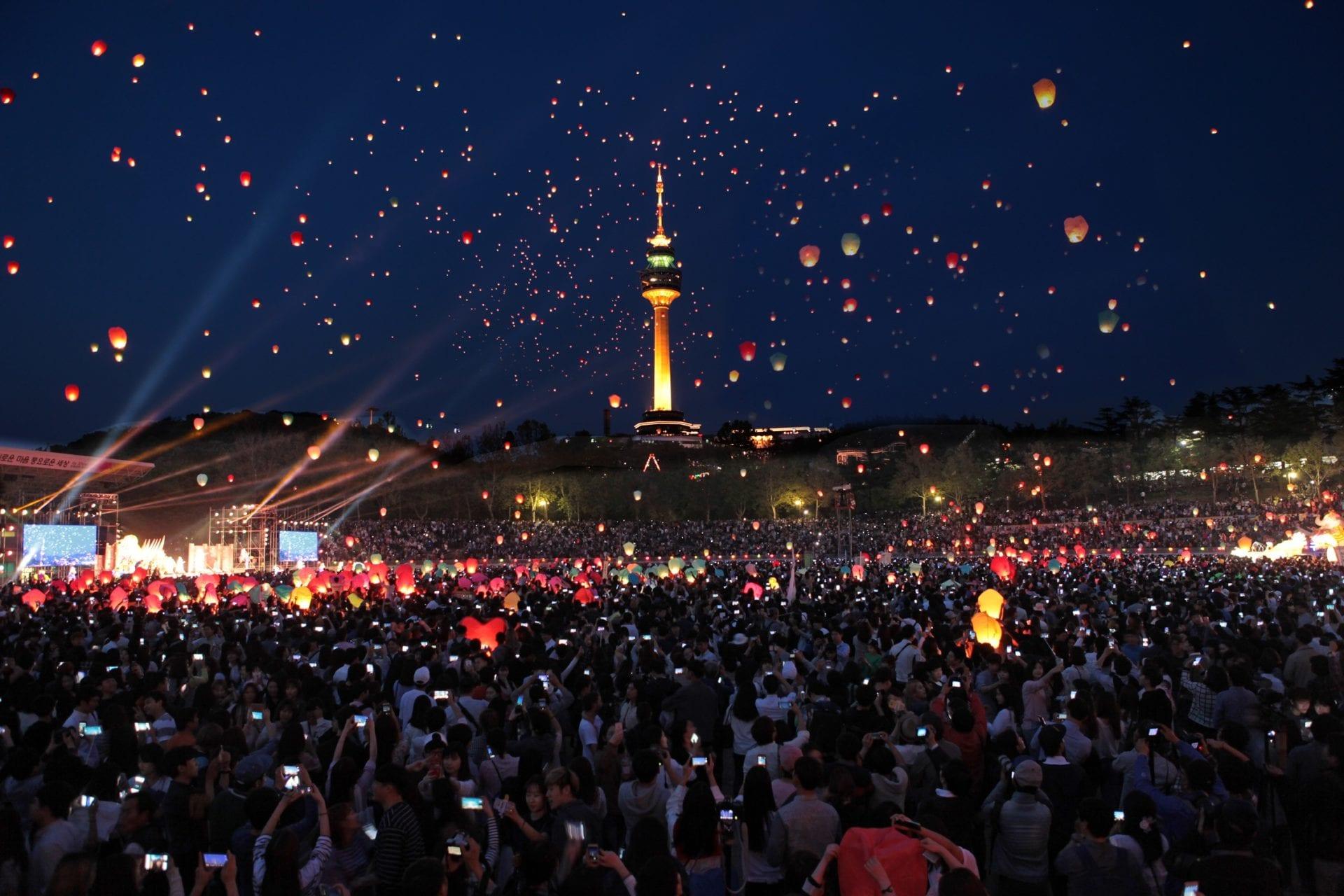 daegu lantern festival