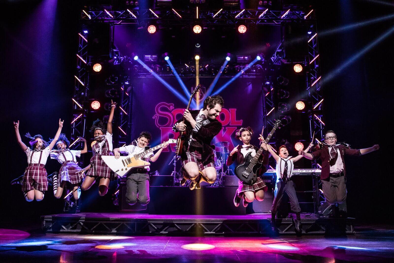 school of rock the musical songpa-gu seoul