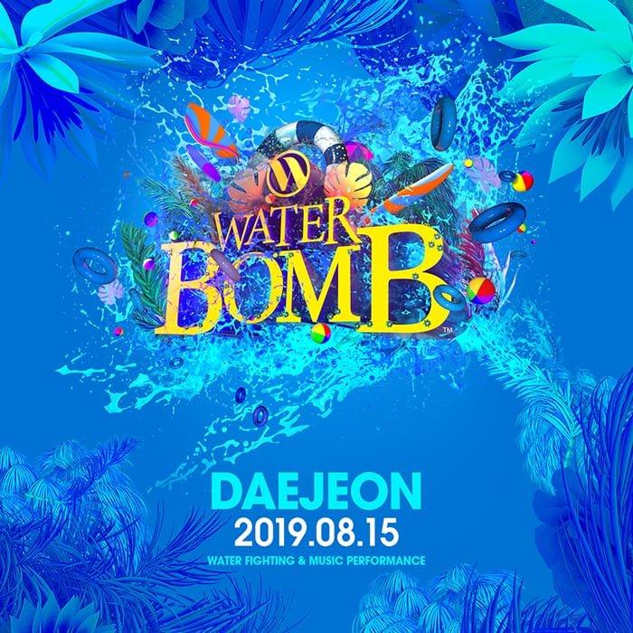 waterbomb festival daejeon korea 2019 lineup
