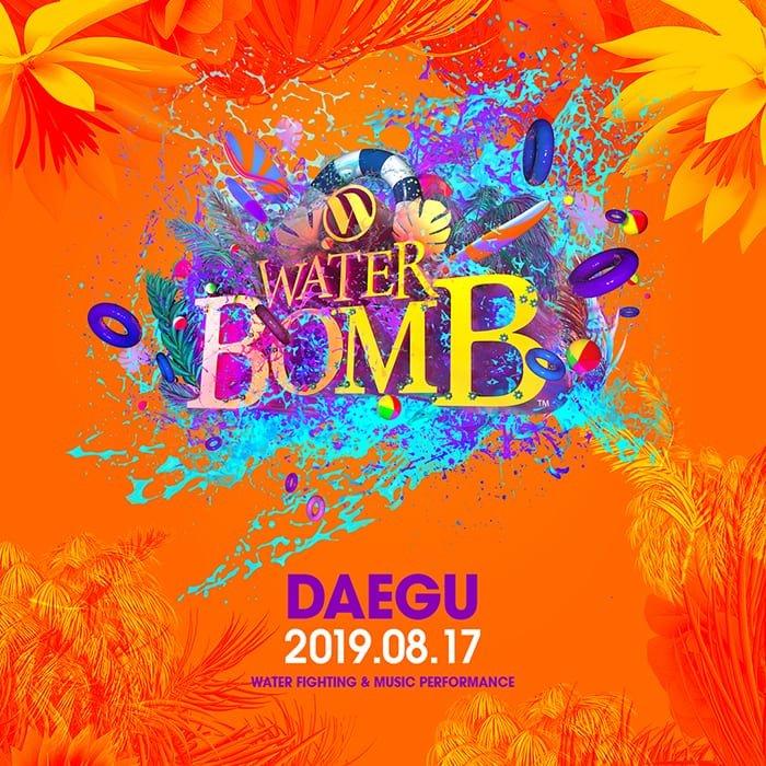 waterbomb festival daegu korea 2019 lineup location