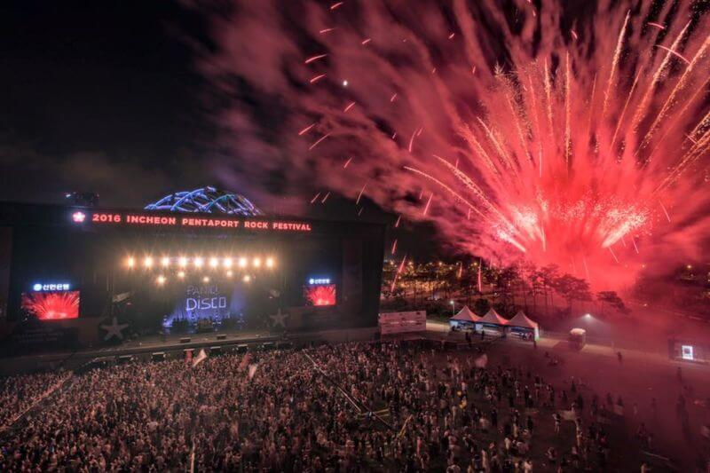 Hasil gambar untuk Festival Incheon Pentaport Rock