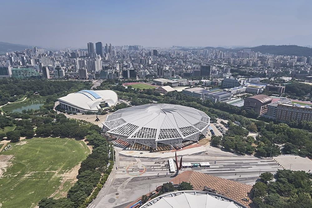 Olympic Gymnastics Gymnasium (KSPO Dome) | Songpa-gu, Seoul