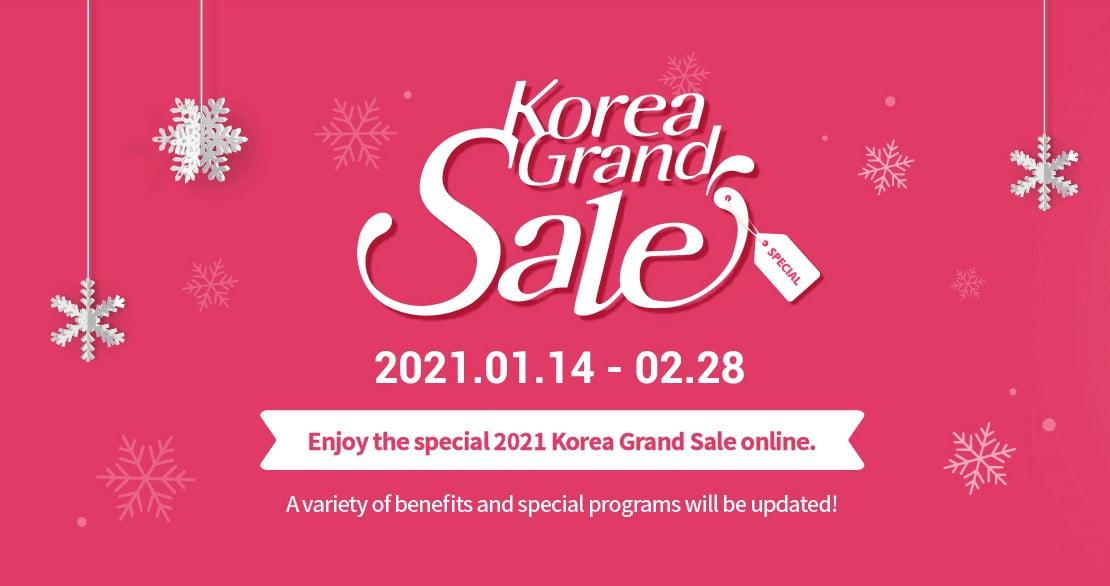 Korea grand sale poster