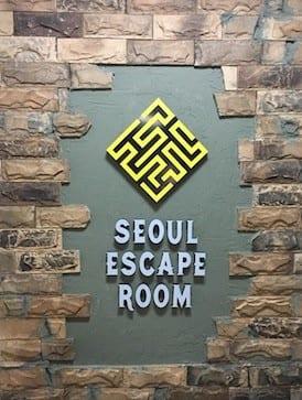 Seoul Escape Room