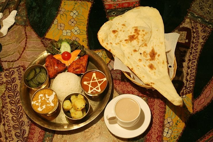 yeti restaurant food