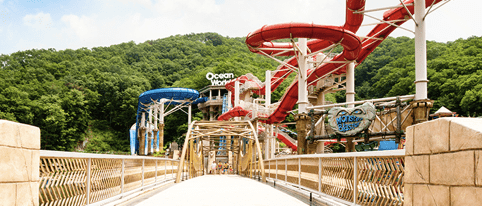 ocean world water park korea