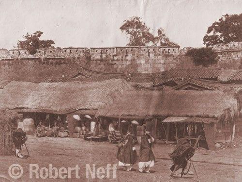 Seoul Walls circa late 1880