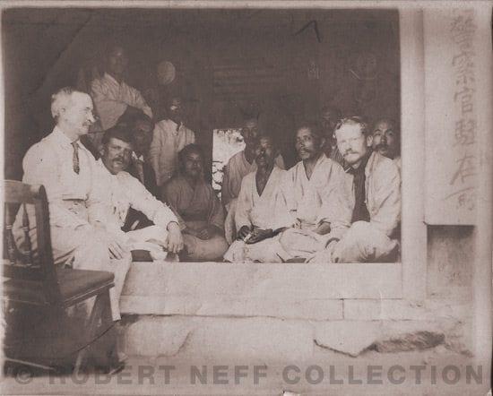 Visitors to Ullong Island, circa 1906