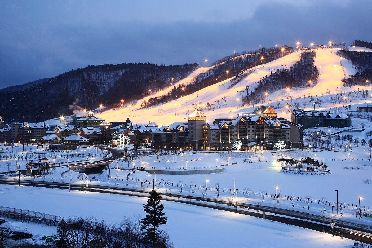 resorts in korea alpensia resort olympics