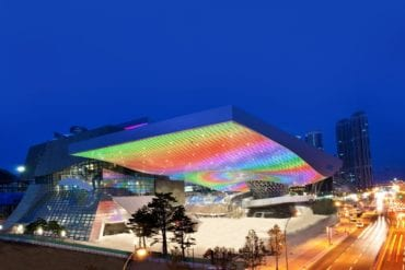 modern Contemporary Architecture Spaces In Korea Busan Cinema Center