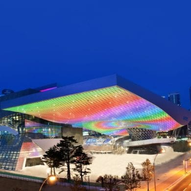 modern Contemporary Architecture Spaces In Korea Busan Cinema Center