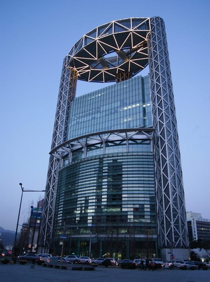 Contemporary Architecture Spaces In Korea millennium-tower-insadong