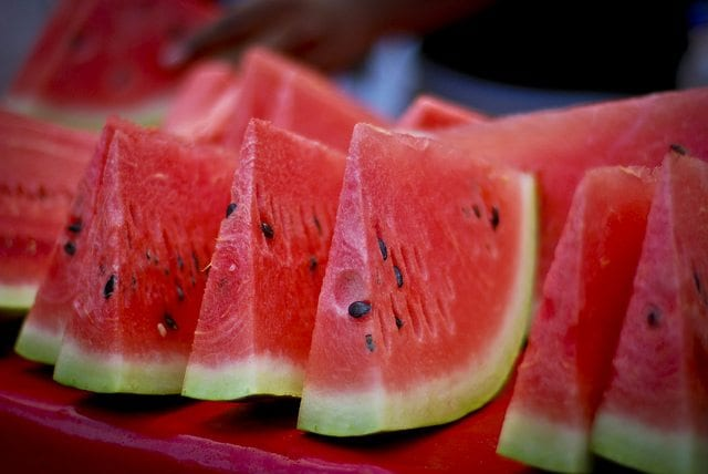 watermelon in korea