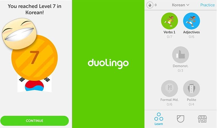 10 OF THE BEST FREE KOREAN LEARNING APPS Duolingo