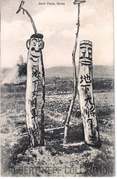 Devil Posts circa 1910-1920