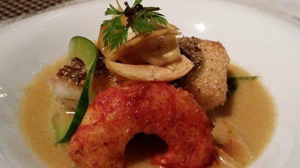 Mingles seasonal fish & pasta