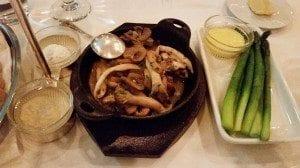 Lawry's, steakhouse, Seoul, Korea, Gangnam, asparagus, mushrooms