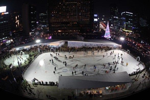 seoul city hall ice rink