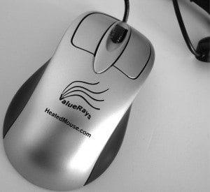 USB ValueRays Heated Mouse