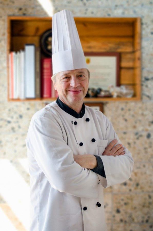 Chef Roland Hinni