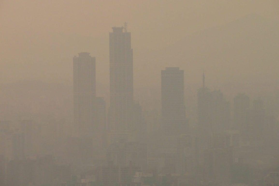 yellow dust mask