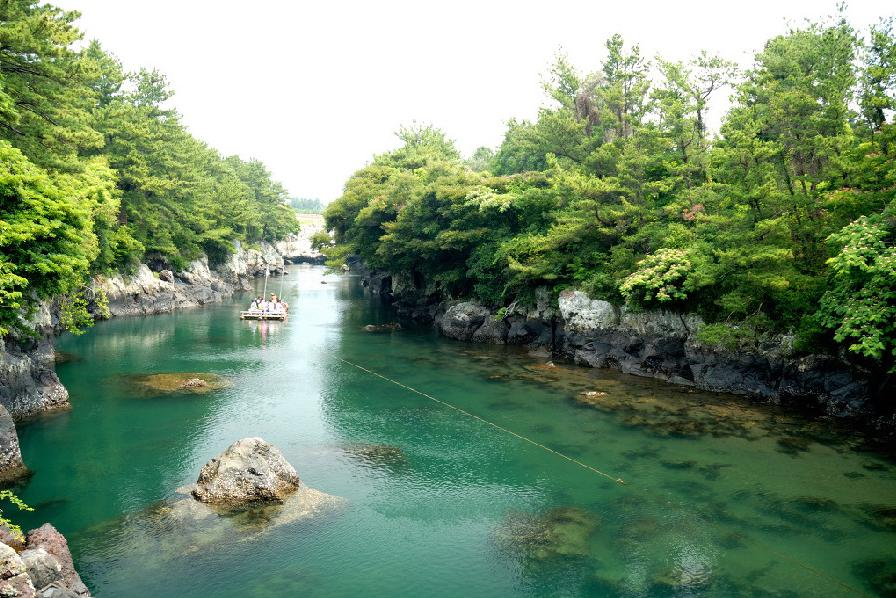 top jeju beaches Swesoggak River