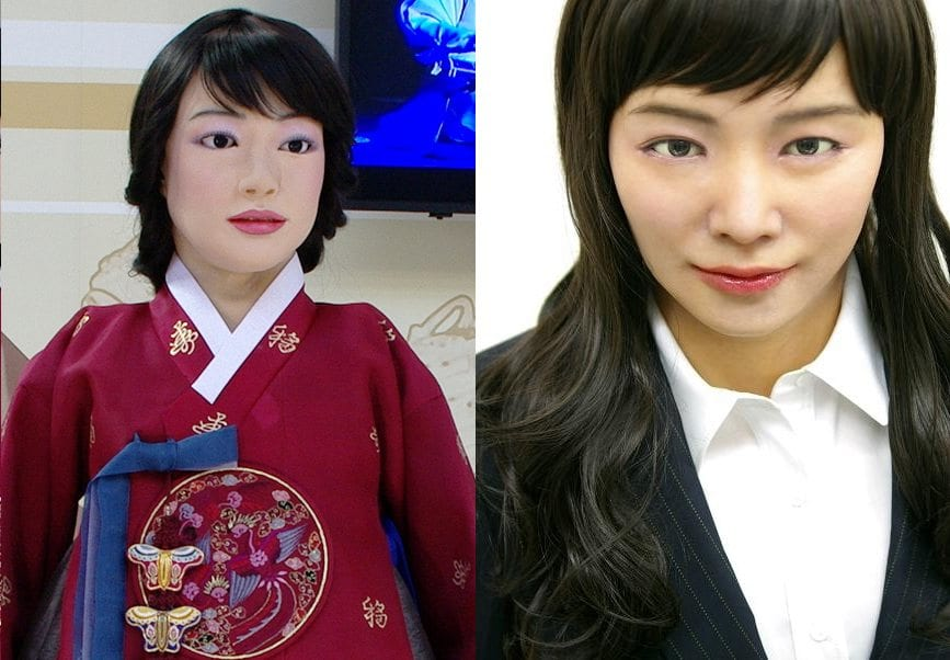 10 Of The Weirdest Korean Wikipedia Entries creepy lip-syncing robots