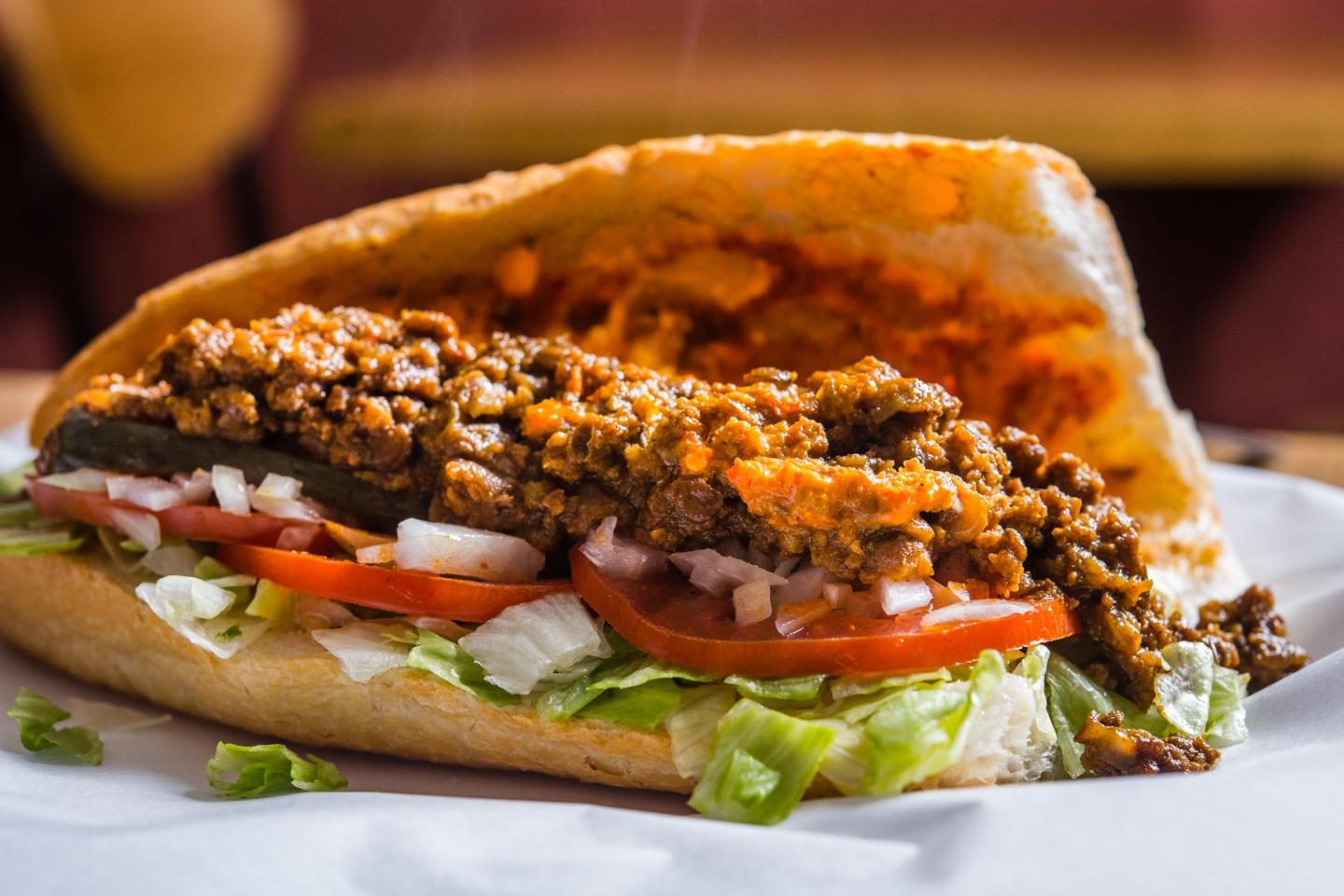 Casablanca in Haebangchon, Habid Naciri, Moroccan sandwiches, lamb, chicken, Haebangchon, Seoul