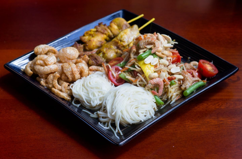 Ma i Mien Itaewon, mango sticky rice, Thai food, Itaewon, Seoul