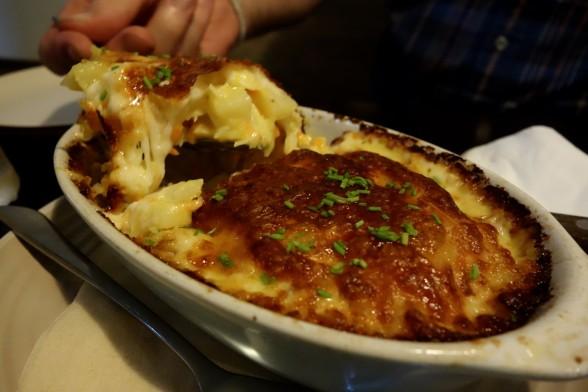 Portuguese food in Seoul, Taverna de Porgual, Bacalhau, creamy salt-cod pie, Seoul, Sangsu