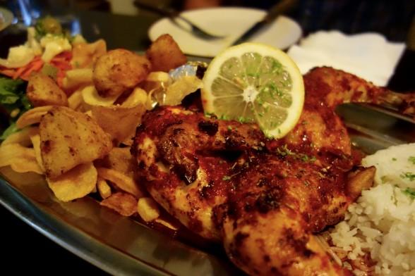 Portuguese food in Seoul, Taverna de Portugal, piri piri chicken, Seoul, Sangsu