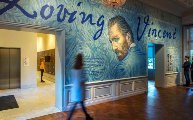 loving vincent van gogh exhibition