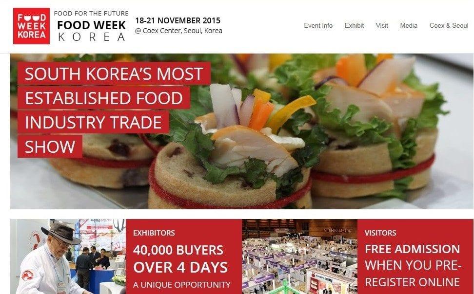 Food Week Korea 2015