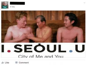 I. Seoul. U. Conan