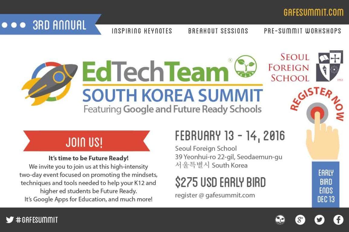 EdTech Team earlybird registration