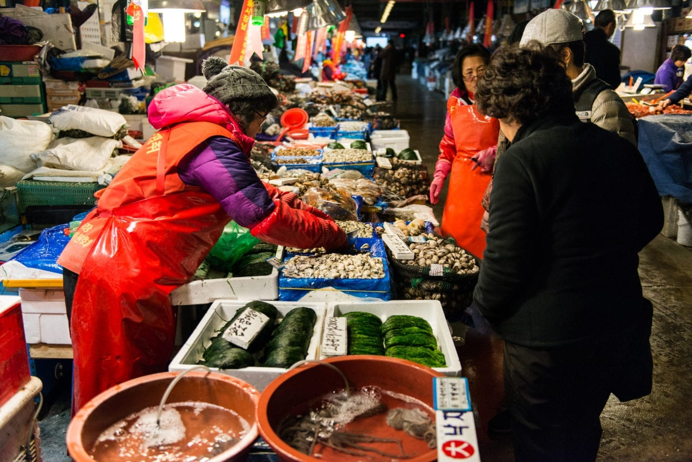The new Noryangjin Fish Market