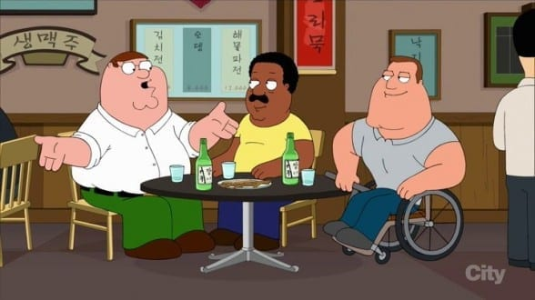 Family guy episode korea